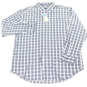Covington Blue/White/Red Plaid Windowpane Shirt